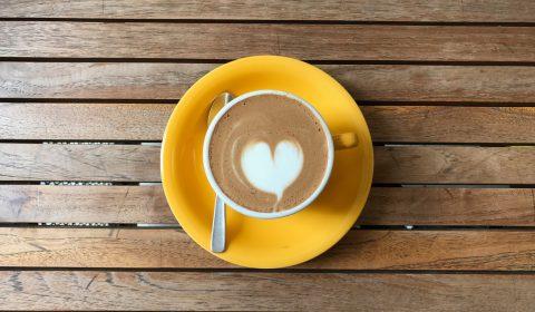 Hartje in je koffie